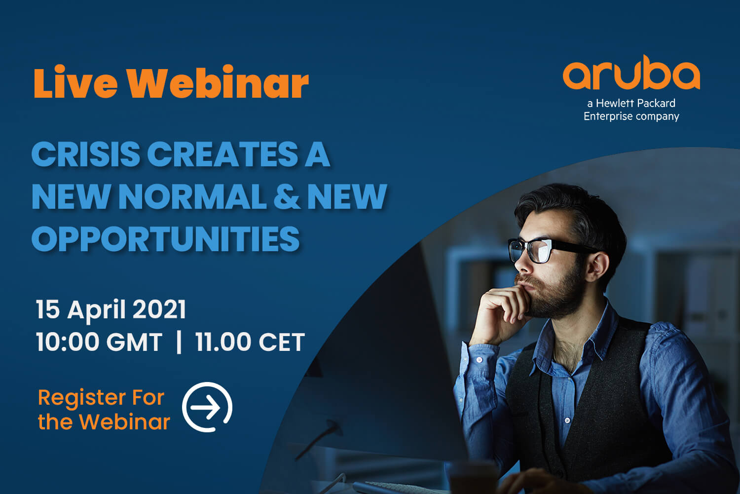 WEBINAR: CRISIS CREATES A NEW NORMAL & NEW OPPORTUNITIES